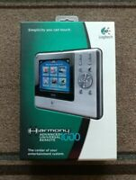 Logitech Harmony 1000 Advanced Universal Remote Control - SOLD AS IS - UNTESTED.