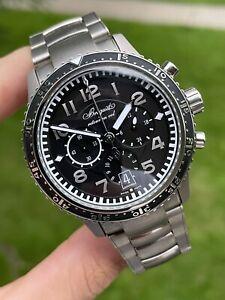 Breguet Marine Transatlantique Type XXI Flyback Titanium 3810TI Watch