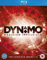 Dynamo: Magician Impossible Complete Series 1 2 3 Blu-ray New Sealed UK Release
