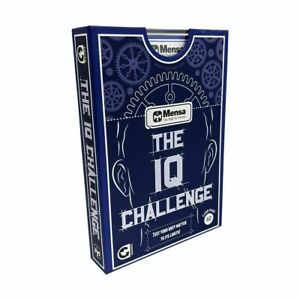 Mensa Test : The IQ Challenge 50 Card Pack Card Game IQ Test Game Xmas Gift T