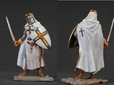 Tin toy soldiers  painted 54 mm Medieval German Knight