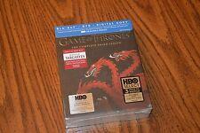 Game of Thrones The Complete Third Season Targaryen Blu-ray/DVD NEW SEALED