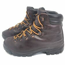 Vintage Garmont Leather Hiking Trail Mountaineering Boots Brown Women's Sz 7 M