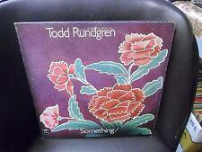 Todd Rundgren Something / Anything 2xLP Bearsville 1972 VG+ gatefold w/ poster