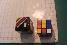 Vintage  wonderful puzzler cube in box and instructions, version 2 box
