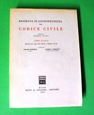 Rassegna di Giurisprudenza sul Codice Civile - Ed. Giuffrè 1958