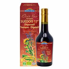 Biofloral - Elixir du Suédois bio véritable 17° - Dépuratif - 375ml