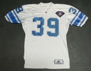 1994 Van Malone Detroit Lions 75th Anniversary Game Used Worn Football Jersey!
