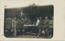 Foto/AK Soldaten-Feldgrau-Schild Feldküche 1914/16 (i347)