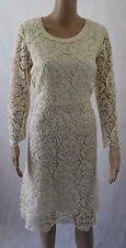 Somerset by Alice Temperley Ivory Lace Dress - UK 14 (r141)