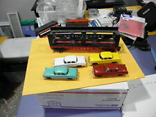 Lionel 6414 Evans Auto Loader with Madison Hardware Cars