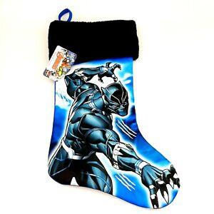 Marvel Avengers Black Panther Christmas Holiday Stocking Action Hero Wakanda NWT