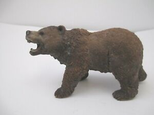 Schleich animal figure Wild Life Grizzly Bear Toy