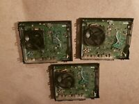 Microsoft Xbox One Day One Edition  Black Console Lot of 3 Broken