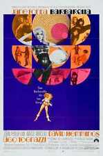 Barbarella Poster 03 A3 Box Canvas Print