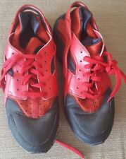 Mens Nike Air Huarache Size 9 Red REDUCED