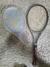 """Pro Kennex Copper Ace Tennis Racquet 27"""" Long Cowhide Leather Grip Vintage"""