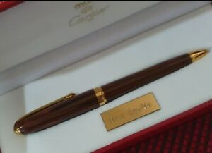 Cartier pen louis wooden limited edition