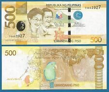 Philippines 500 Piso P 210 UNC 2014 Low Shipping! Combine FREE!