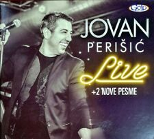 CD JOVAN PERISIC LIVE + 2 NOVE PESME ALBUM 2018 GOLD AUDIO VIDEO