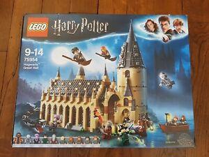 Lego Harry Potter 75954 - Great Hall, boîte vide