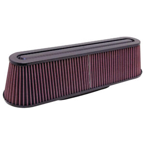 RP-5161 K&N Universal Carbon Fiber Top and Base Washable Air Filter