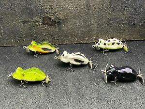 5 - Kneller Lures - Prop Frog - Custom Wood Topwater Propbaits - Lot 9