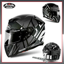 CASCO MOTO INTEGRALE IN FIBRA AIROH GP 500 SECTORS WHITE MATT TAGLIA M (57 - 58)