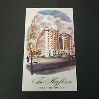 Vintage Postcard The Mayflower Hotel Washington DC