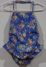 NEW Ralph Lauren Girls 1pc One-Piece Ruffle Bottom Swim Suit 6m 9m 12m 18m 24m
