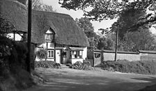 B/W Negative Figheldean Wiltshire Post Office 1949 +Copyright DB807