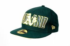 NEW ERA OAKLAND ATHLETICS 59 Fifty Gorra Verde/Dorado Talla 7+3/8 (58.7cm)