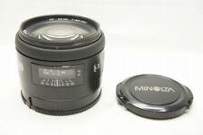 MINOLTA AF 24mm F2.8 NEW Second Version Lens Sony Minolta Alpha Mount #201028ad