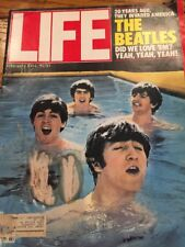 1984 FEBRUARY LIFE MAGAZINE - THE BEATLES COVER - L 1935