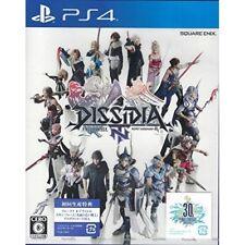 NEW PS4 DISSIDIA Final Fantasy NT w/1st Print Limited BONUS DLC JAPAN import