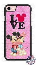 Disney Minnie Mouse Sparkle Minnie Phone Case Cover Fits iPhone Samsung LG HTC