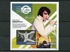 Micronesia 2014 MNH Elvis Presley First Live Concert in NYC 1v S/S II