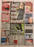 BILD Zeitung 18.06.2018 - DEUTSCHLAND - MEXIKO 0:1 - WM 2018
