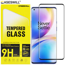 For OnePlus 8 / 8 Pro / 8 5G Caseswill 3D Curved Tempered Glass Screen Protector