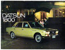 Datsun Nissan 1800 Laurel Saloon 1969-71 UK Market Single Sheet Sales Brochure
