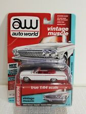 Auto World 64192 1:64 Vintage Muscle 1962 Chevy Impala Convertible