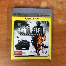Sony PlayStation 3 Game - Battlefield Bad Company 2 w/instructions - Excellent