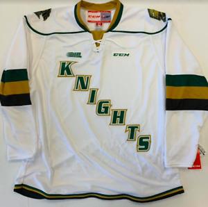 New CCM Premier London Knights Hockey Player Jersey Senior Medium 7185 OHL Adult