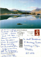 1993 BLACK MOUNTAINS RANNOCH MOOR PERTH & KINROSS SCOTLAND COLOUR POSTCARD