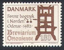 Denmark 1982 Printing/Books/Literature/History/Press/Animation 1v (n40938)