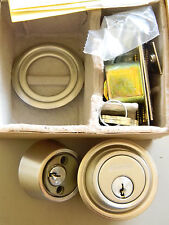 Schlage Everest Double Cylinder Deadbolt B562P 619 Brushed Nickel- C 123 Keyway