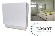 """36"""" European Style Door Bathroom Vanity Plywood Cabinet White Crocodile Pattern"""