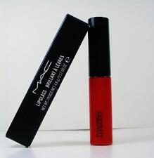 MAC Lipglass Lip Gloss - Russian Red Boxed ( Intense Red ) full size 0.17oz