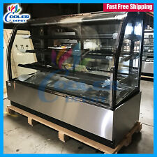 "Deli Showcase Refrigerator Bakery Nsf 72"" Case Pastry Case Display Cooler Depot"