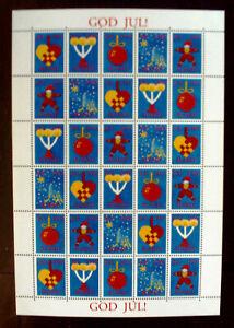 ALAND,Finnland, Weihnachtsmarken 1993 Kleinbogen postfrisch / MNH,mint.(399 #)